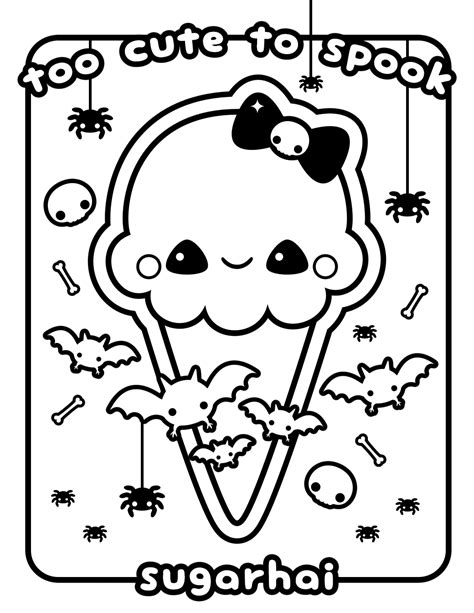 kawaii ice cream coloring pages kawaii coloring pages coloringsuite com