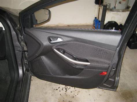 Remove Interior Door Remove Door Panel Ford Focus