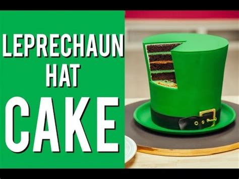 How To Make A Leprechaun Hat Out Of Paper - how to make a leprechaun hat out of cake the ultimate st