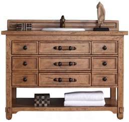 48 inch single sink bathroom vanity solid wood honey alder