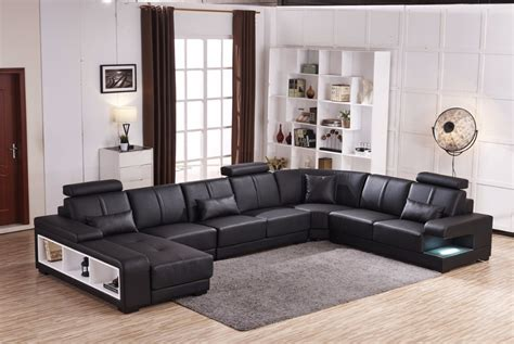 7 seat sectional sofa beanbag chaise specail offer sectional sofa design u shape