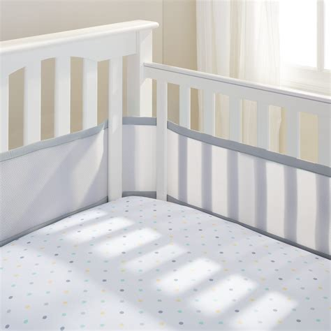 Use Of Crib Bumpers by Breathablebaby 174 Classic Mesh Crib Liners Breathablebaby