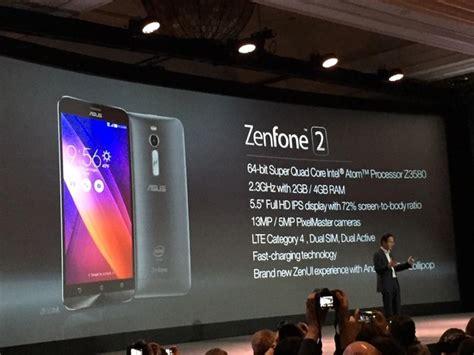 Resmi Zenfone 2 Ram 4gb by Asus Zenfone 2 Resmi Hadir Di Indonesia Dengan 4gb Ram