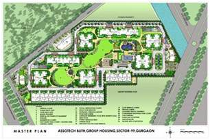 Green Home Building Ideas master plan assotech blith at sector 99 gurgaon dwarka