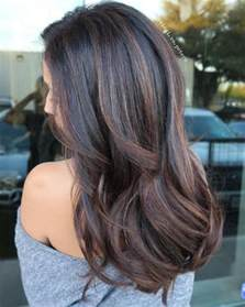 what color highlights for black hair 90 balayage hair color ideas with brown and