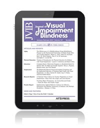 epub format book stores journal of visual impairment blindness jvib may june