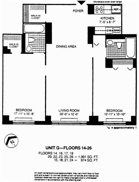 8 york floor plans 377 rector place 17g battery park city new york ny 10280 realdirect