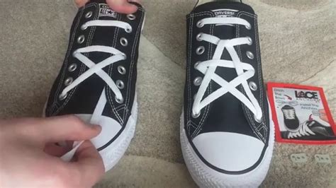 how to bar lace high top converse how to star lace converse youtube