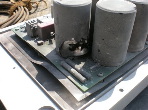 motor capacitor blew up why oh why powerflex 70 bit the dust electrician talk professional electrical contractors
