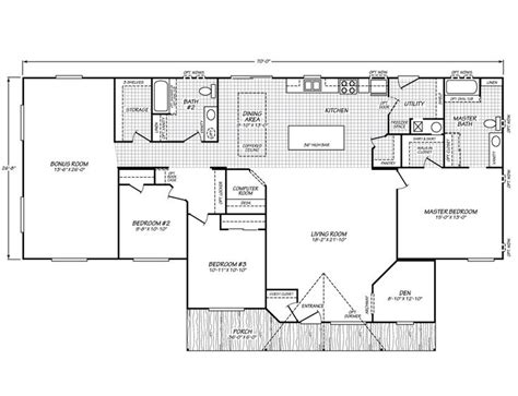 fleetwood floor plans waverly crest 40703w fleetwood homes manufactured homes