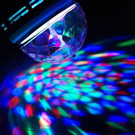 rotating disco light rotating led disco light bulb petagadget