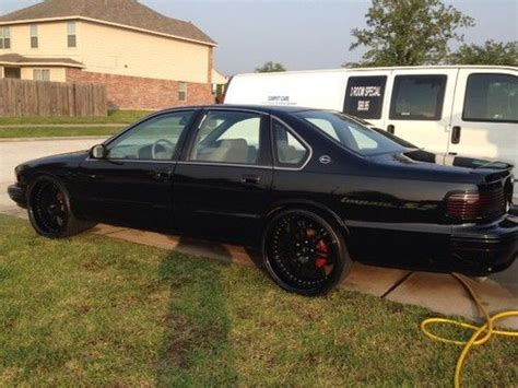 custom 96 impala find used 1996 impala ss mildly custom in