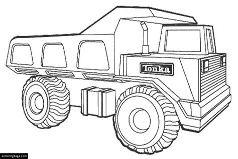 Tonka Truck Coloring Page | tonka truck coloring pages to print coloring pages