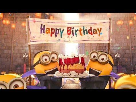 imagenes de minions happy birthday happy birthday minions youtube images seasons bd s