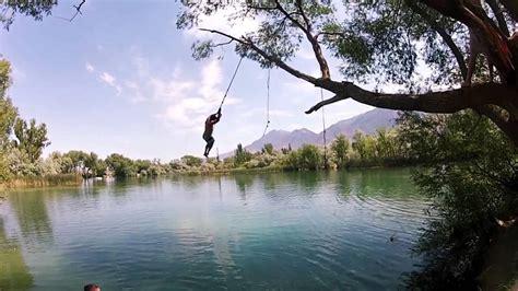 mona rope swings mona rope swing swim near midway utah free arenas