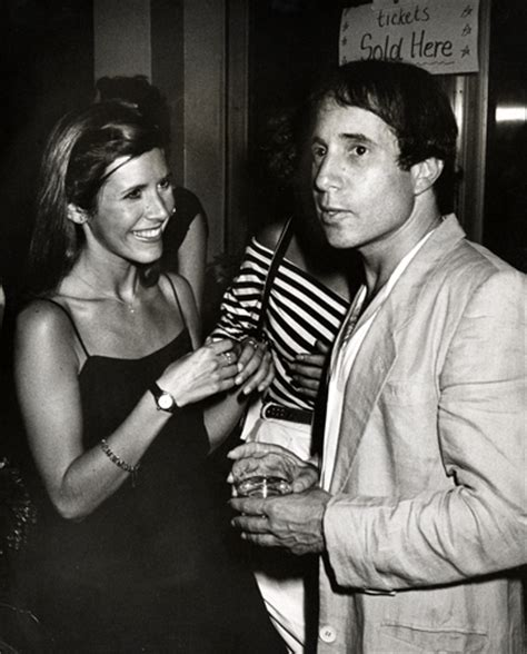 paul simon reddit paul simon with his then girlfriend carrie fisher late