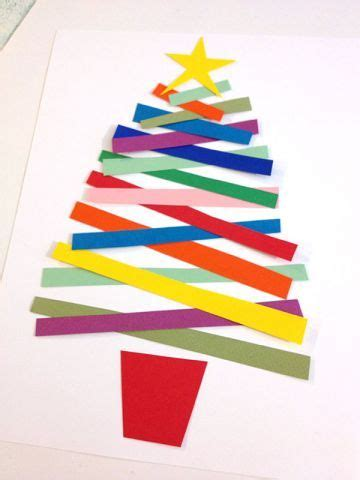 xmas tree activity out of construction paper how to decorate a construction paper tree billingsblessingbags org
