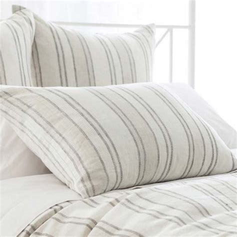 pillow ticking bedding pine cone hill hton ticking natural pillow cottage