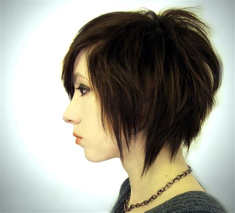 edgy bob hairstyle medium length edgy bob hairstyles choppy hairstyle hair