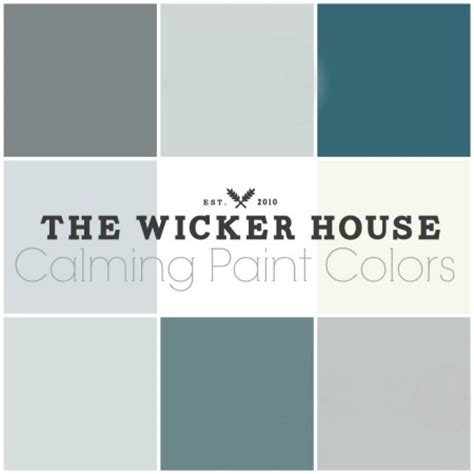 soothing paint colors 9 calming paint colors