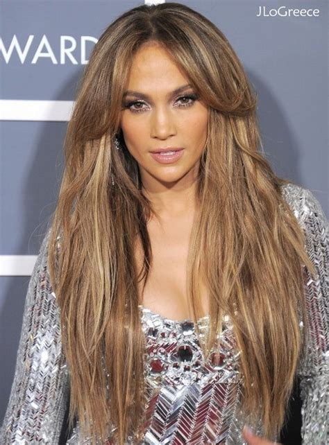 hairstyles for long hair jennifer lopez spectacular celebrity long hairstyles hairstyles 2017