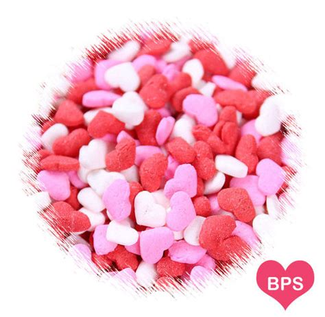 valentines sprinkles s day sprinkles in pink and white