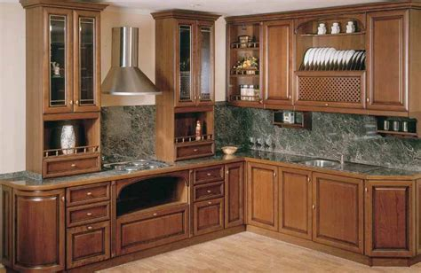 Ideas For Kitchen Cabinets by Corner Kitchen Cabinet Designs An Interior Design