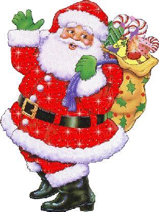 imagenes santa claus con movimiento le p 232 re no 235 l amm 232 ne sa hotte remplie de cadeaux pour tous