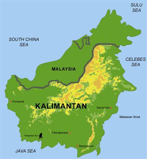 Borneo Kalimantan kalimantan menjadi perhatian khusus tni dunia militer