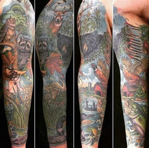 outdoor tattoo sleeves 70 tattoos for skills of war in times of peace
