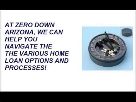 arizona zero or no payment mortgages and home loans