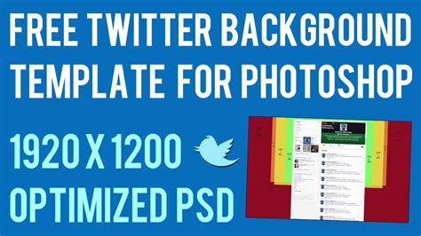 twitter layout 2014 psd twitter background template psd 2014 1920 x 1200