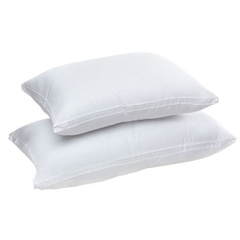 Gusseted Pillows by Senses Touch Fiberfill Gusseted Pillow