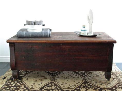 Hinged Top Coffee Table Vintage Wood Cedar Chest With Hinged Top Trunk Coffee Table Wood Bench On Etsy 480 00 My
