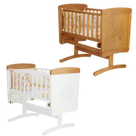 Winnie The Pooh Rocking Crib by Obaby Disney Winnie The Pooh Gliding Crib Wooden Nursery