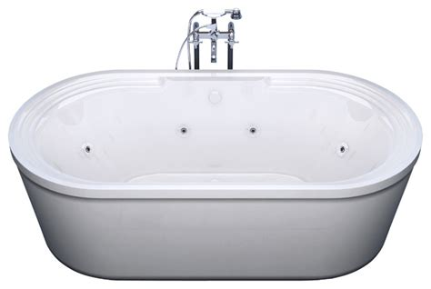 freestanding bathtubs with jets venzi venzi padre 34x67 oval freestanding whirlpool