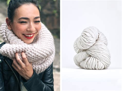 Chunky Knit Scarf style trends chunky knit scarves sheep and stitch