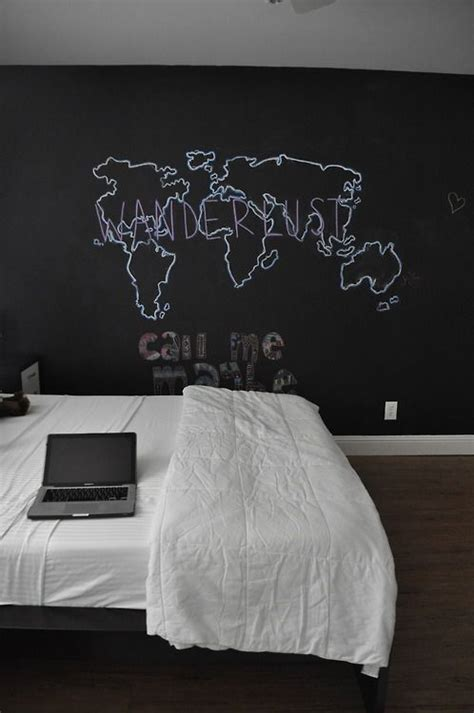 chalkboard paint ideas bedroom 25 best ideas about chalkboard wall bedroom on pinterest
