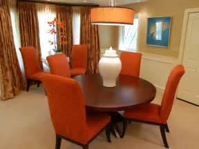 Orange Dining Room Chairs 25 Colorful Rooms We Love From Hgtv Fans Color Palette