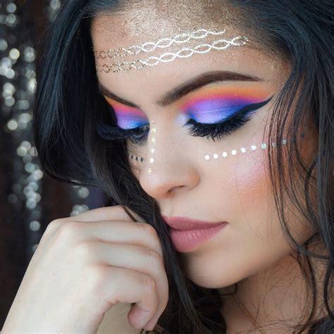 Makeup And coachella glam makeup tutorial makeup