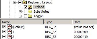 keyboard layout preload настройка дефолтной раскладки через gpo реальные заметки