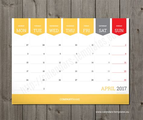 monthly calendar 2018 planner wall or table pad planner