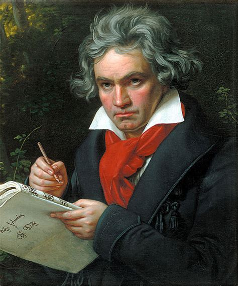 Blind Composer was beethoven really deaf when he wrote all his
