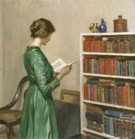 paint reader the athenaeum the reader harold knight