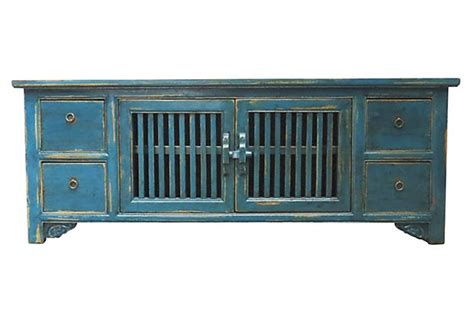Blue Console Cabinet by Cool Blue Media Cabinet On Antique Blue Indian Cupboard