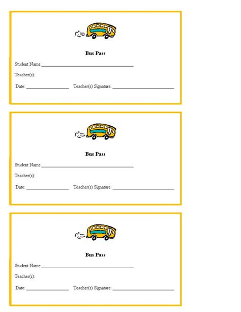hall pass template for teachers teacher printables