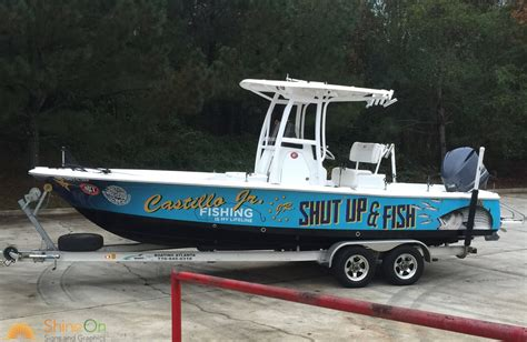 fishing boat wraps designs boat wraps and graphics shine on signs seattle wa