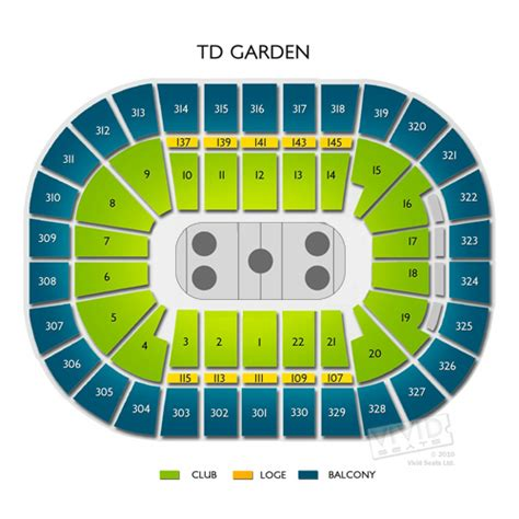 td garden floor plan boston garden virtual seating