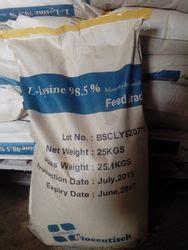 L Lysine Hcl 98 5 l lysine hydrochloride suppliers manufacturers in india