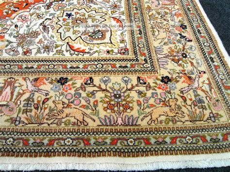 orient teppich orient teppich beige jagdmuster 370 x 280 cm alter